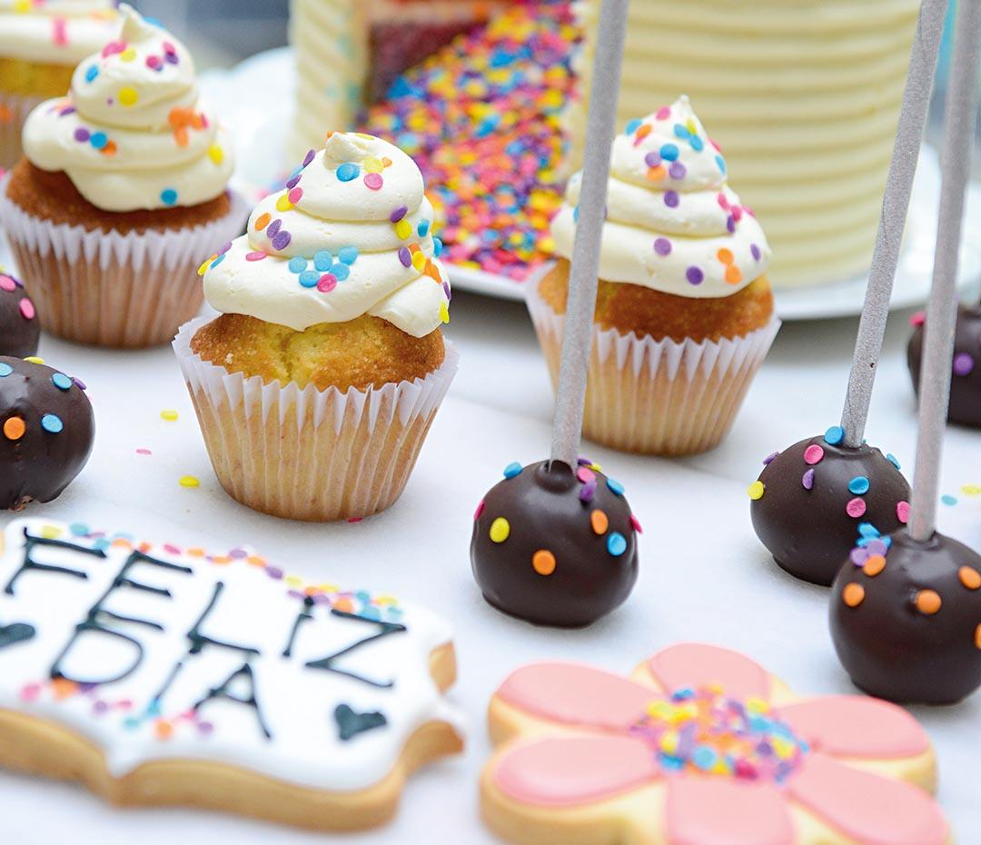 Recetas (divertidas) para cocinar y festejar con los chicos