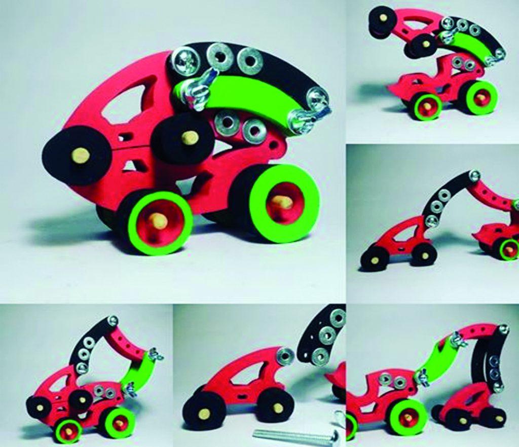 Los juguetes de INF Toys, se arman y desarman