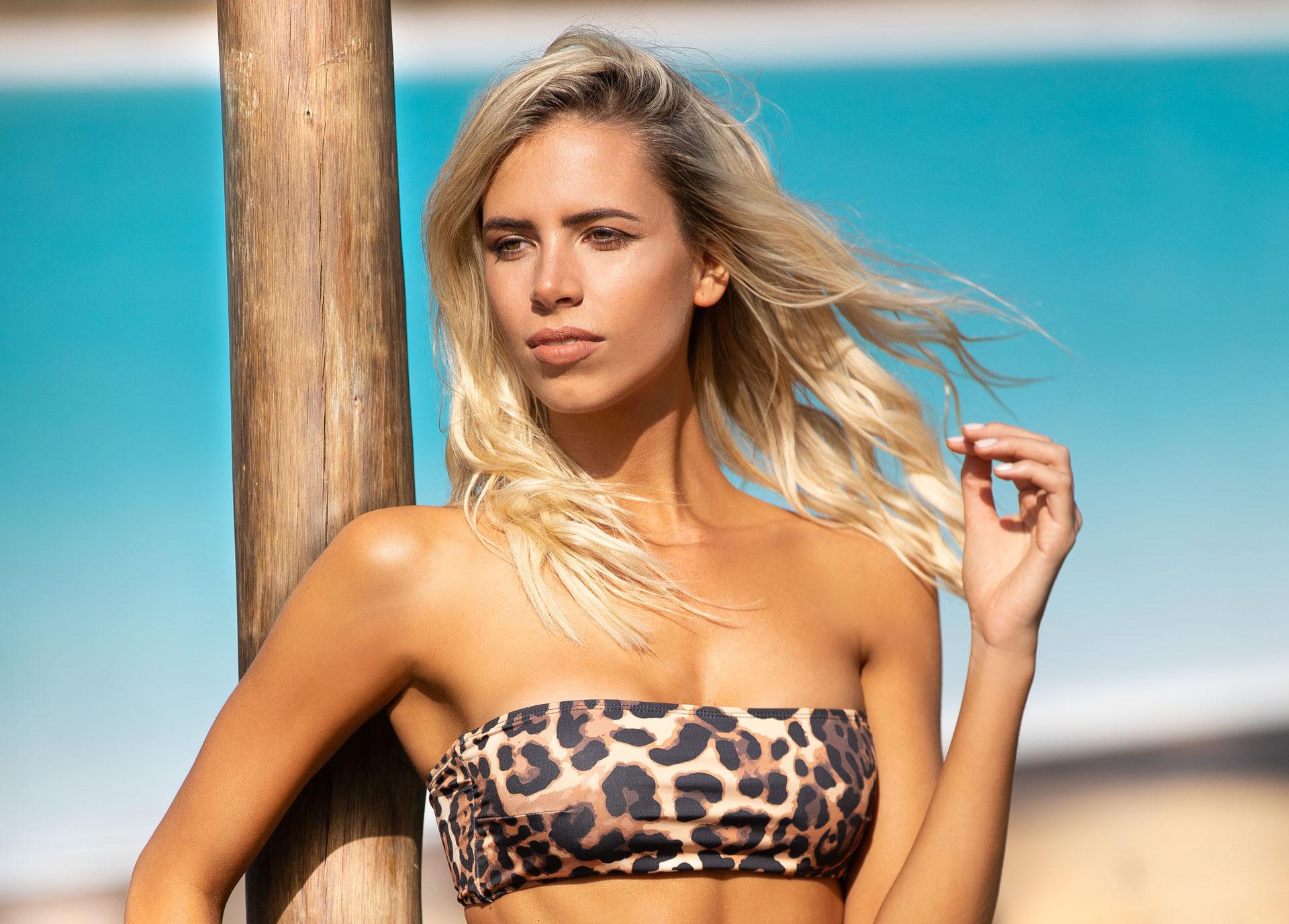 Coni Mosqueira debuta como diseñadora de trajes de baño ¡DIVINA!