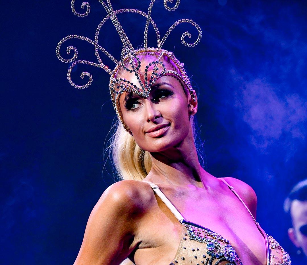 Paris Hilton, estrella del Moulin Rouge en Nueva York