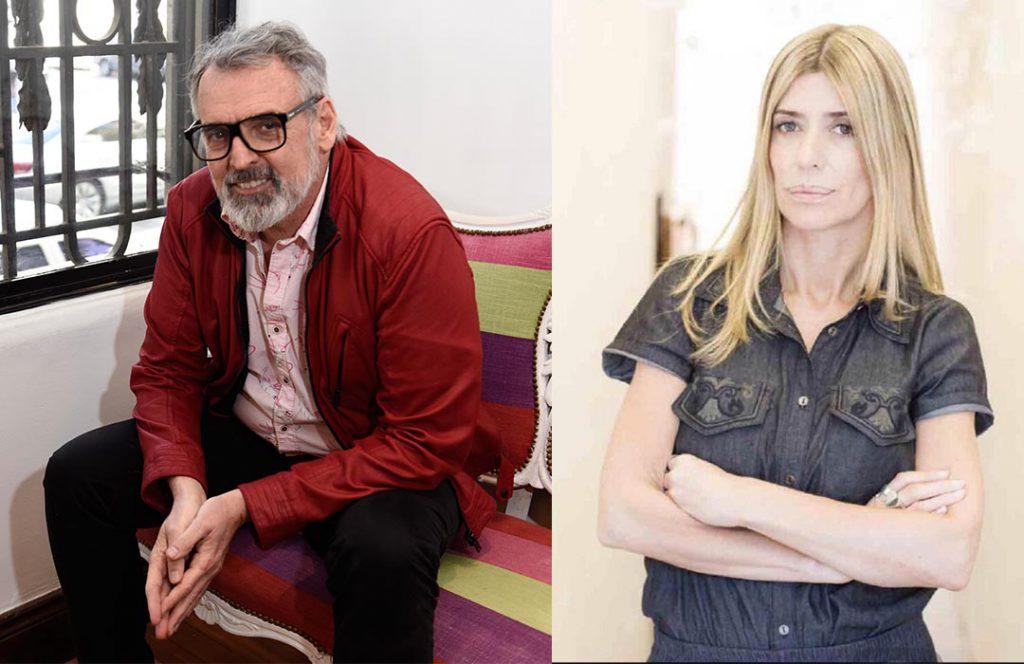 Los diseñadores Benito Fernández y Suami Deleis Suami Delelis de Vevû