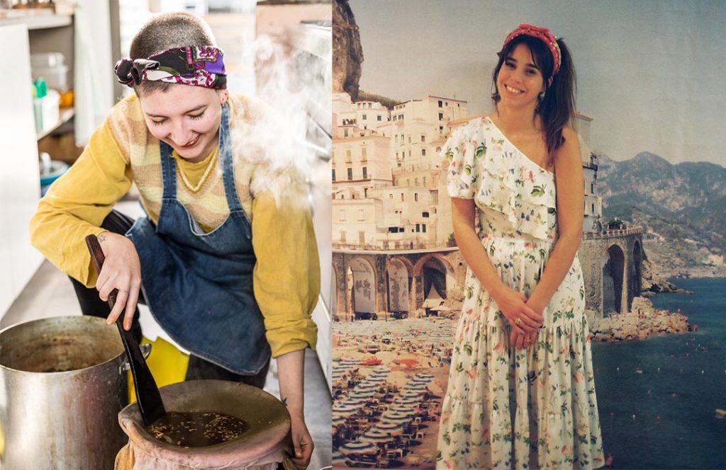 Las diseñadoras emergentes Valentina Karnoubi y Carla Andrea desfilarán