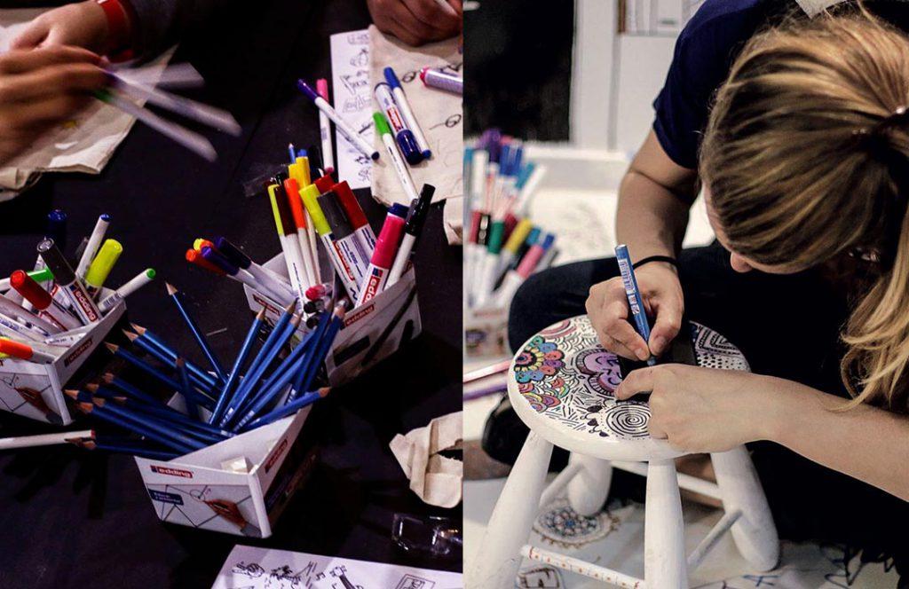 Los talleres de edding: una experiencia creativa