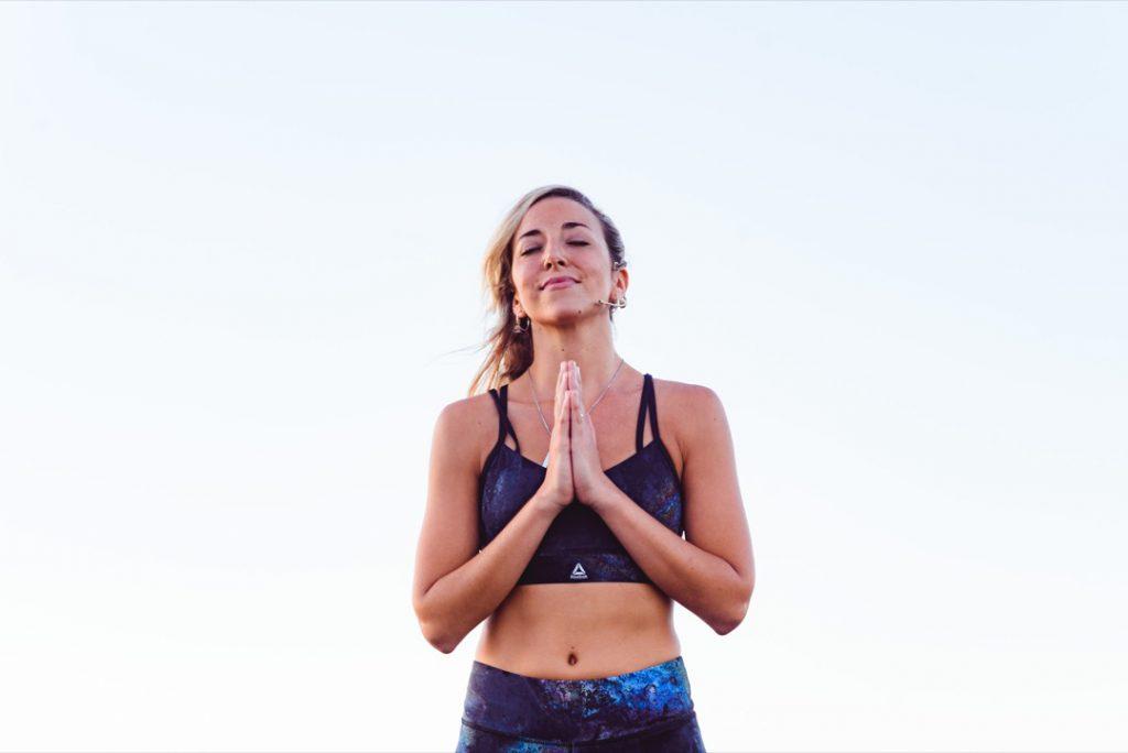 La profesora de yoga e influencer Dafne Schilling