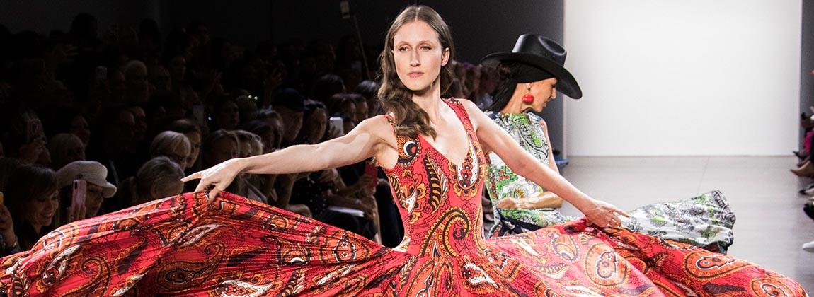 El western fashionista de Chiara Boni en New York