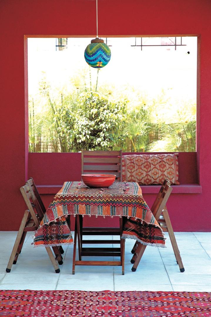 Colores plenos para una moderna casa cubo