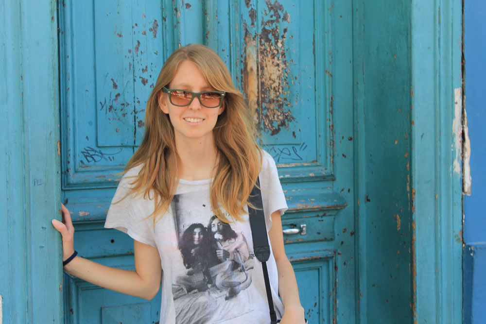 Aniko Villalba convirtió su sueño en realidad y estilo de vida: viajar por el mundo