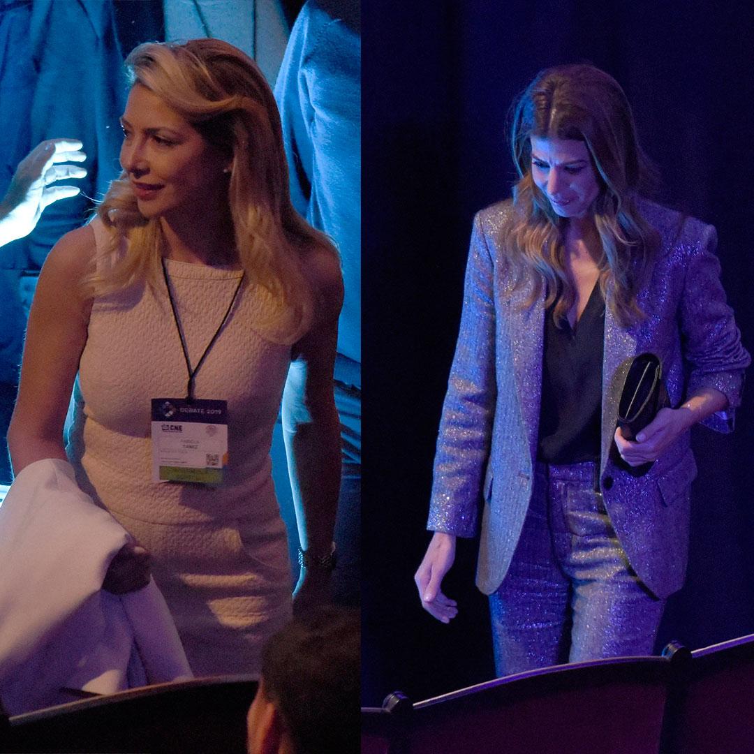 Duelo de estilos entre Juliana Awada y Fabiola Yáñez en el debate presidencial