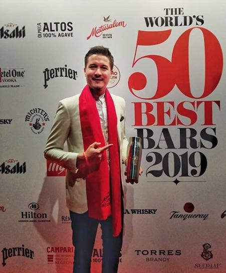 Sea García Bartender 50 Best Bars Presidente