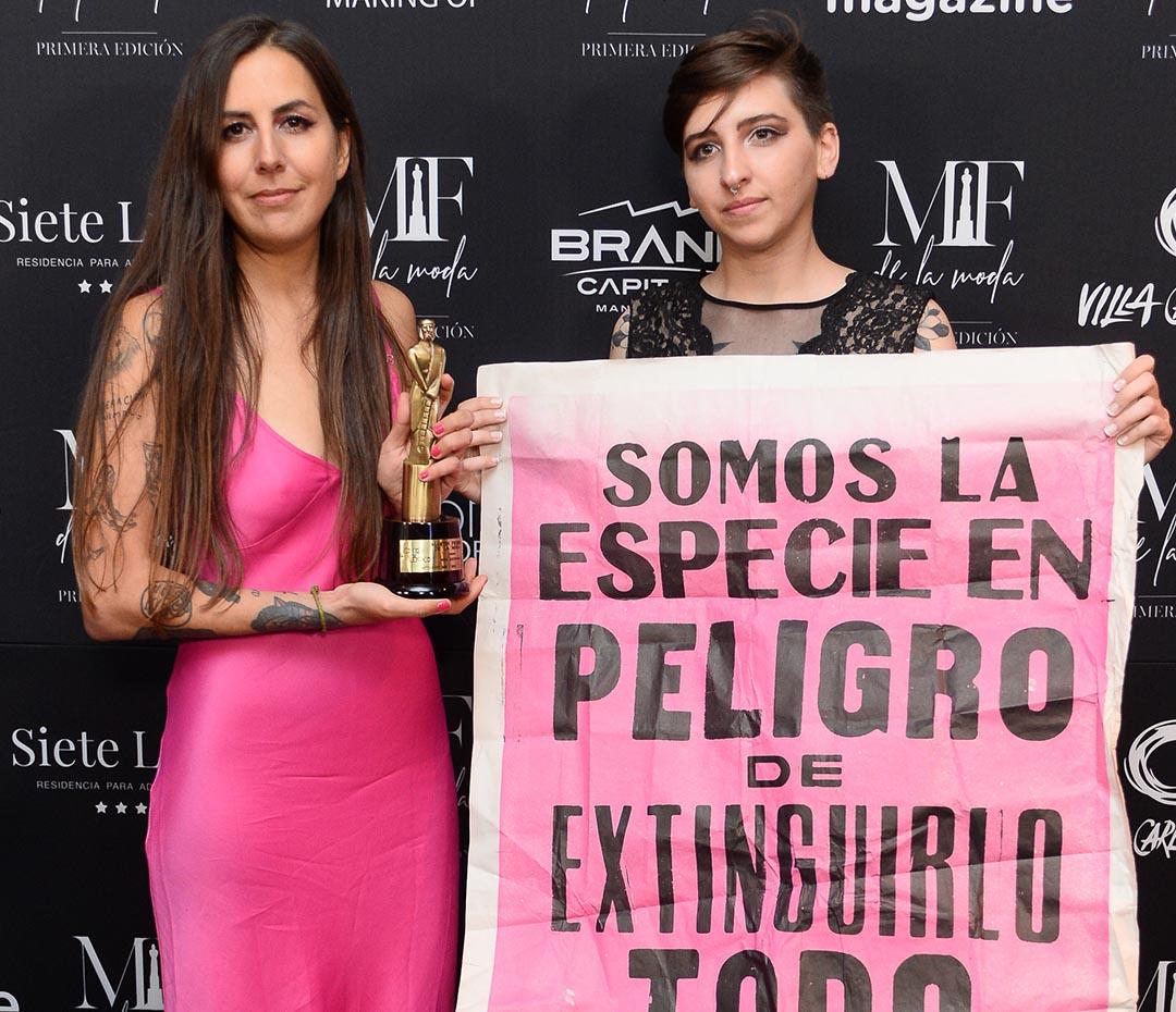 Para Ti presentó el premio Moda Sustentable en la noche de los Martín Fierro de la Moda