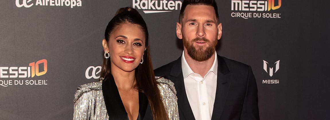 Los looks de la red carpet de Messi 10 (el show del Cirque du Soleil)