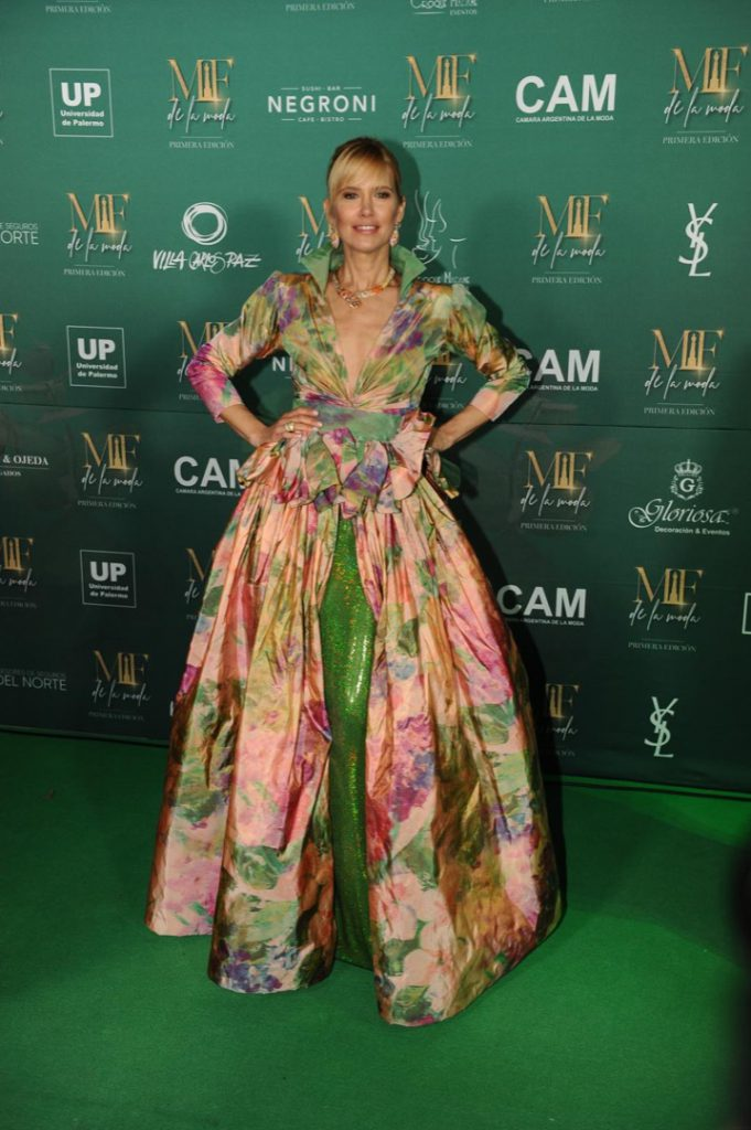 VALERIA MAZZA PAMPITA GREEN CARPET MARTIN FIERRO