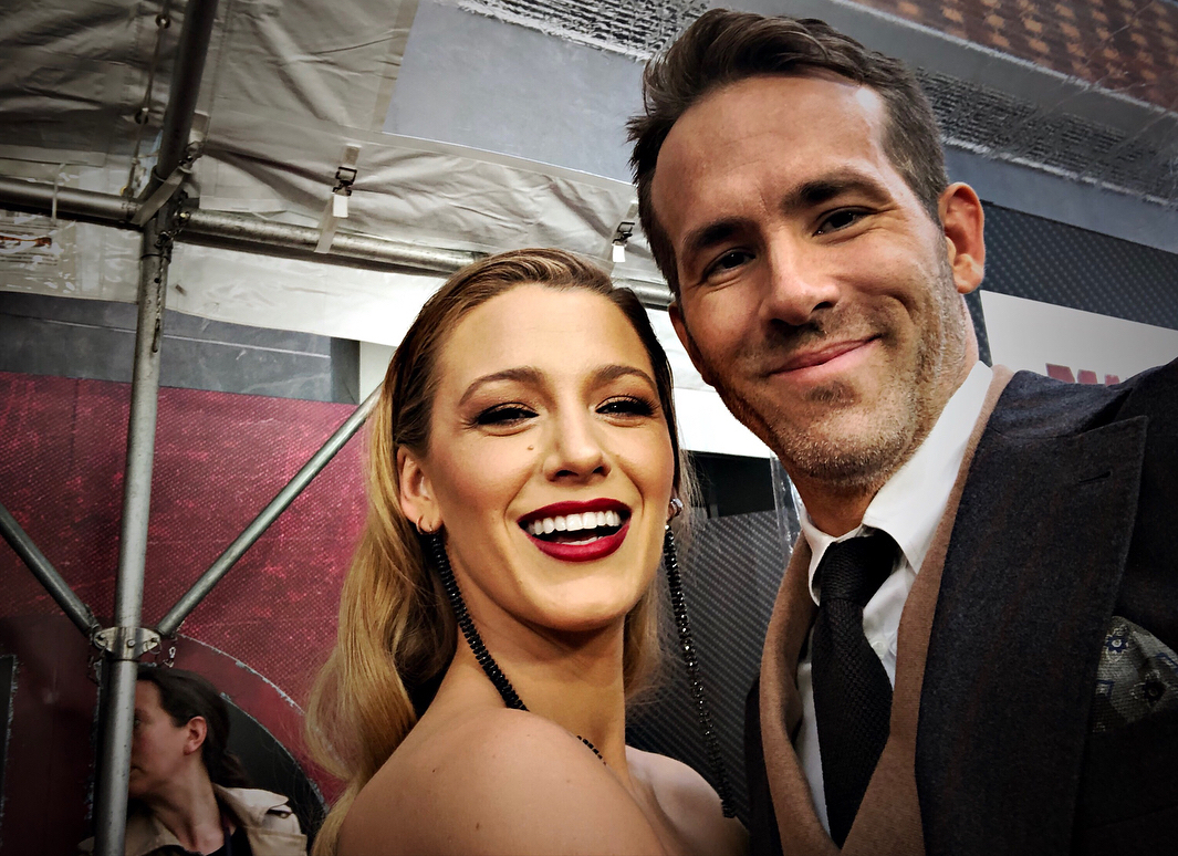 Blake Lively y Ryan Reynolds presentaron a ¿su hija?