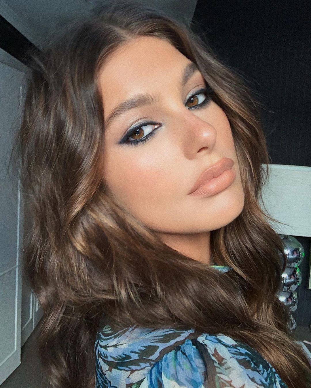 El espectacular look de Camila Morrone