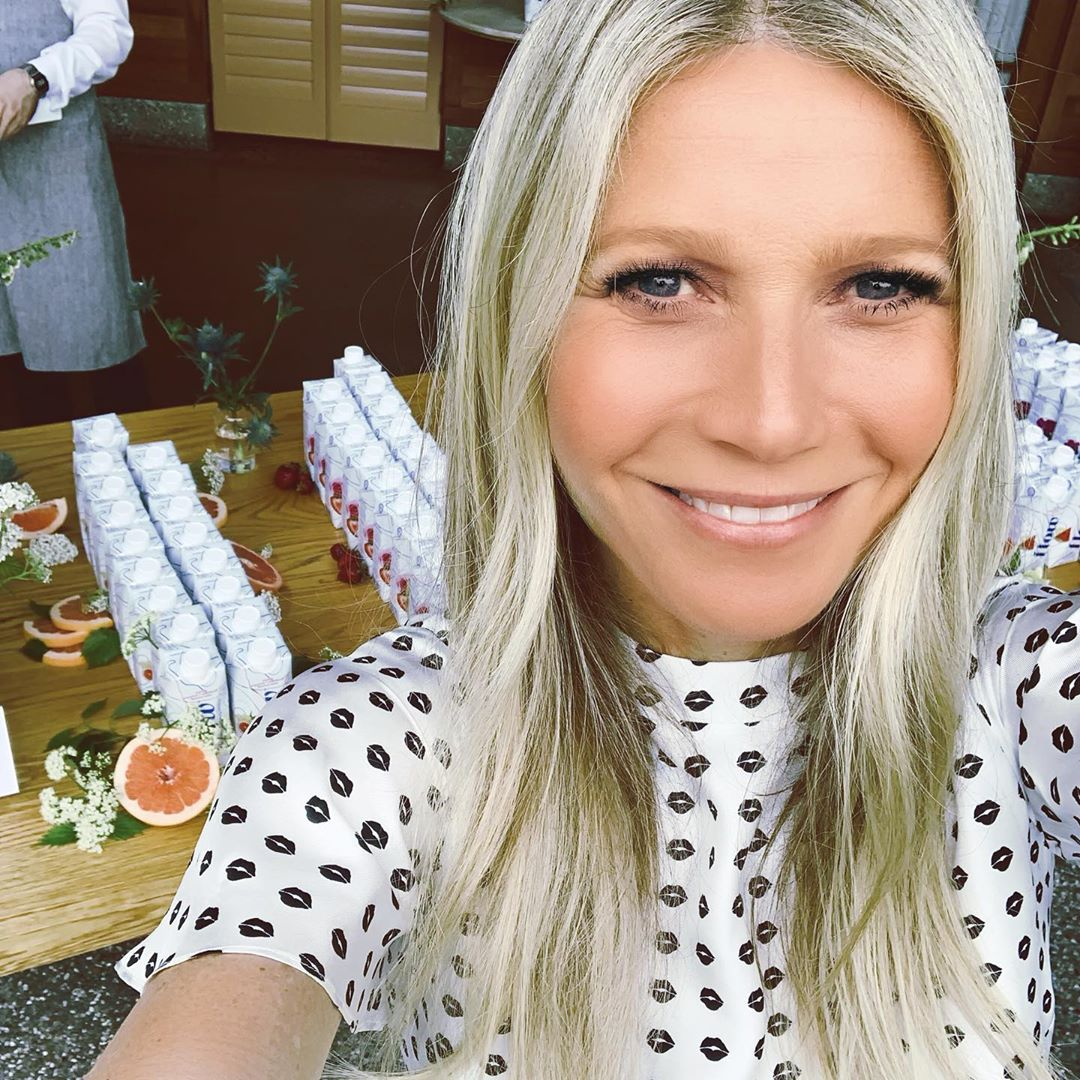 La túnica más chic la tiene Gwyneth Paltrow