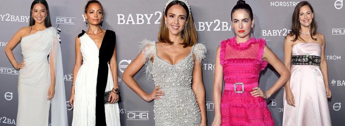 Todo el glamour en la red carpet de la gala Baby2Baby