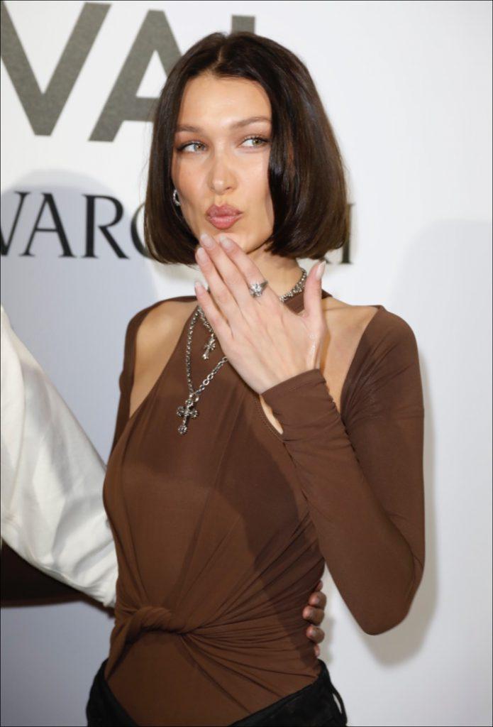 Bella Hadid en Festival Moda de Vogue
