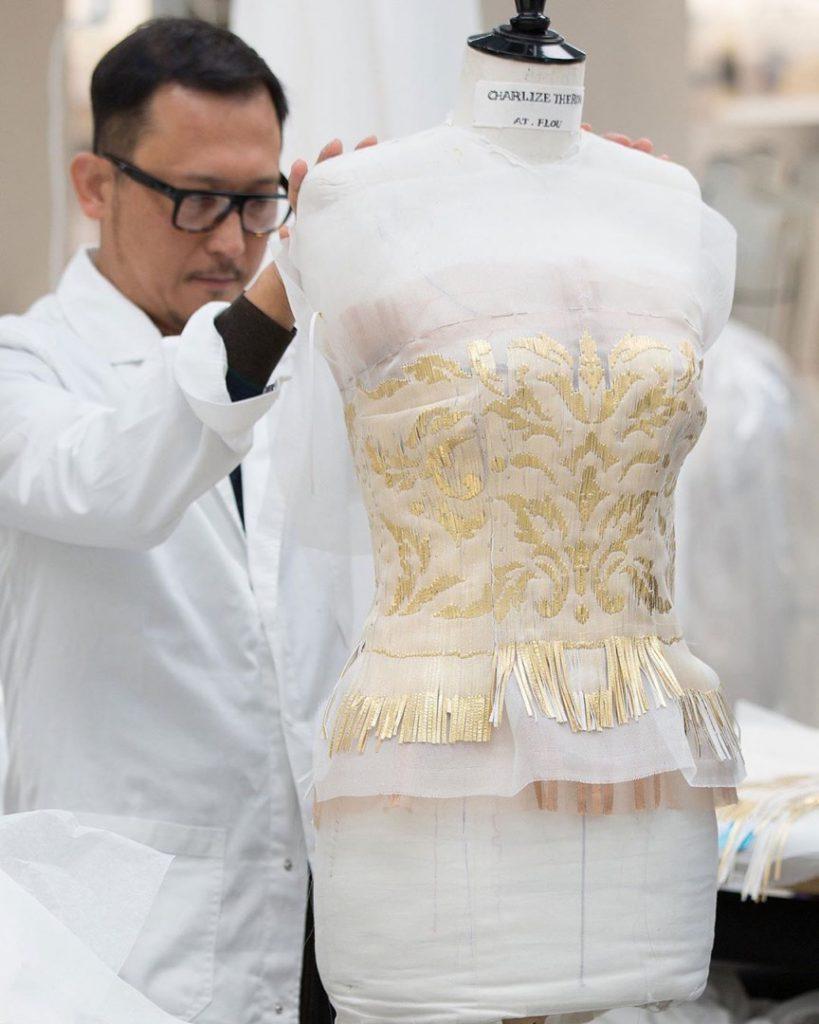 El vestido de Dior que usó Charlize Theron