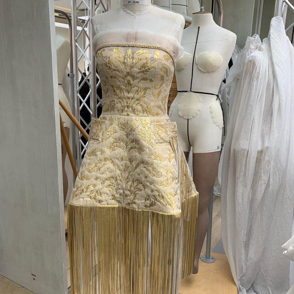 Vestido de Charlize Theron