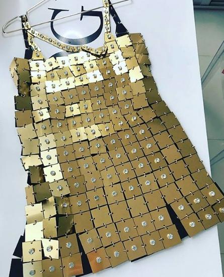 Vestido que usó Lali Espósito en Latin Grammy 2019