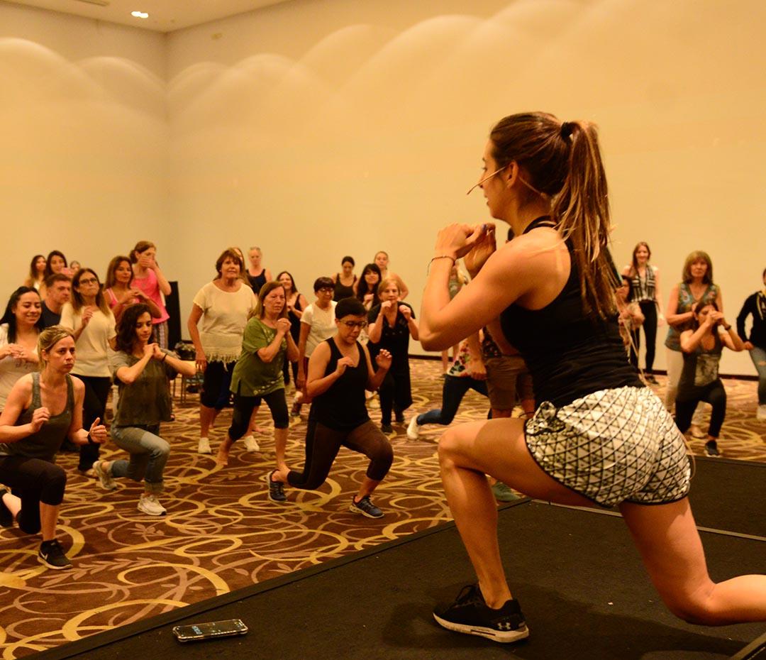 Respirar, proyectar y entrenar: así se vivió la experiencia Para Ti Fit en Tucumán