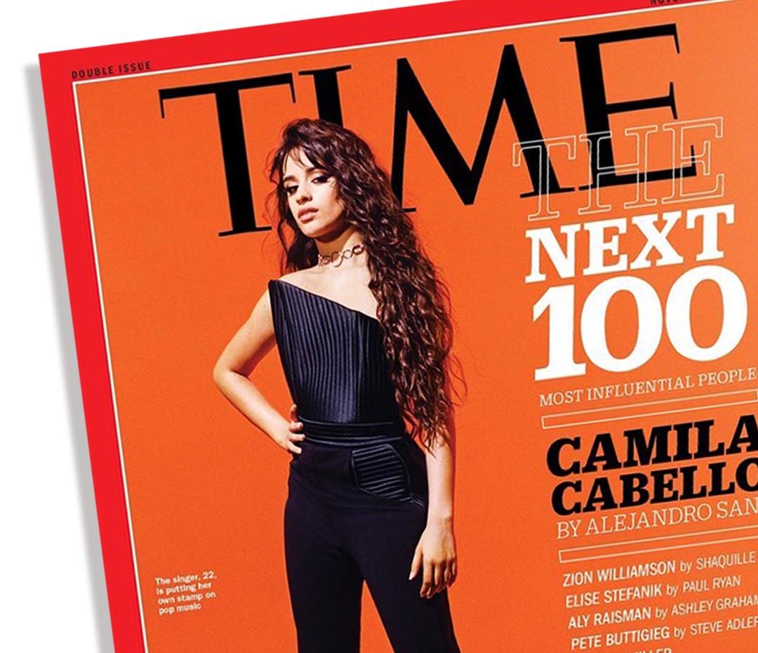 Camila Cabello y el girl power en la lista de Time 2019 de las 100 personas con más potencial