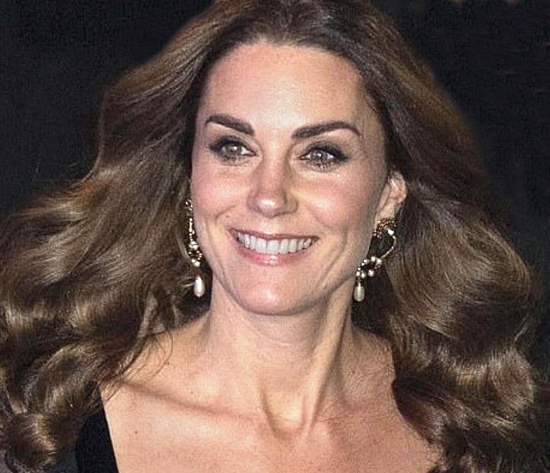 Kate Middleton más osada que nunca (con un falso naked)