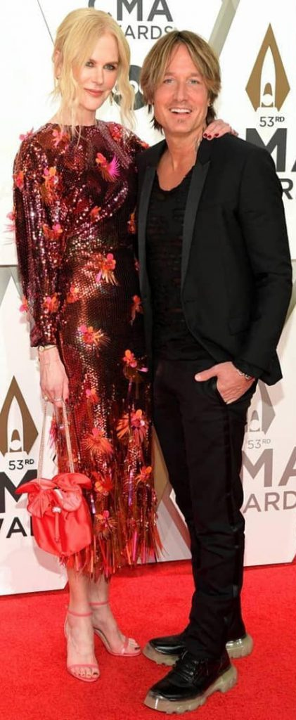 Nicole Kidman y Keith Urban en los CMA Awards