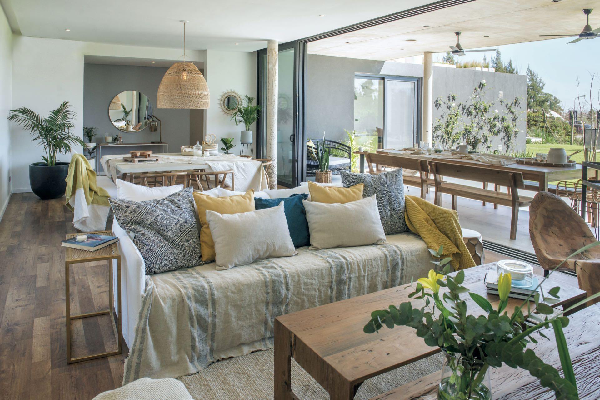 Recorré esta casa ecológica llena de estilo y canchera