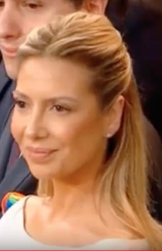 El look ladylike de Fabiola Yañez en la ceremonia de traspaso de poder de Alberto Fernández