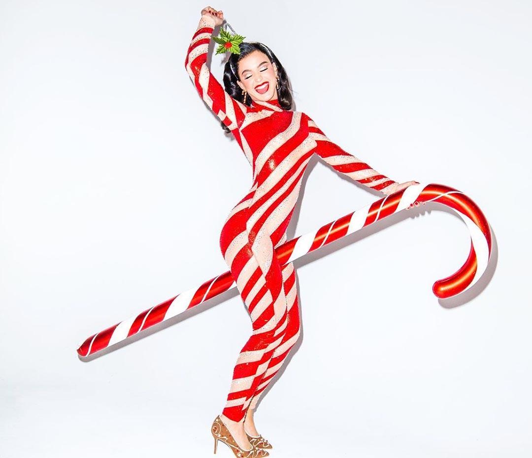 La canción, el video… ¡y el look! de Navidad de Katy Perry
