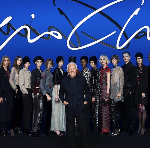 GIORGIO ARMANI FASHION AWARDS 2019