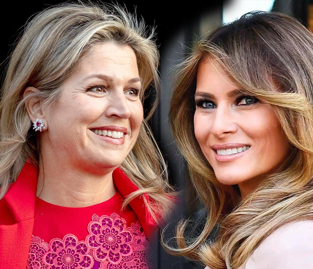 Máxima de Holanda y Melania Trump se la jugaron con el color (y ganaron)