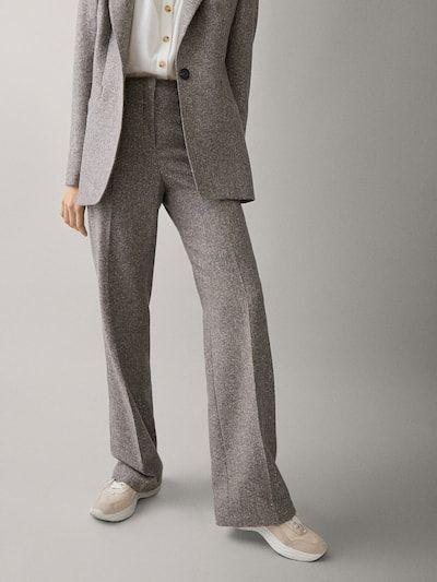 El traje de entre tiempo se lleva en gris jaspeado (JLo y Letizia ya lo saben)