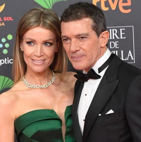 Antonio Banderas ganó (y su novia Nicole Kimpel deslumbró) en los Goya 2020