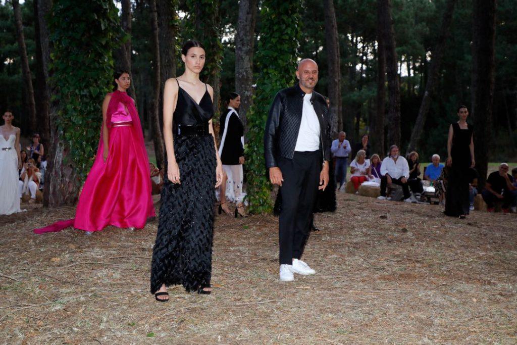 Fabián Zitta llevó el invierno 2020 a Cariló Designers Edition.