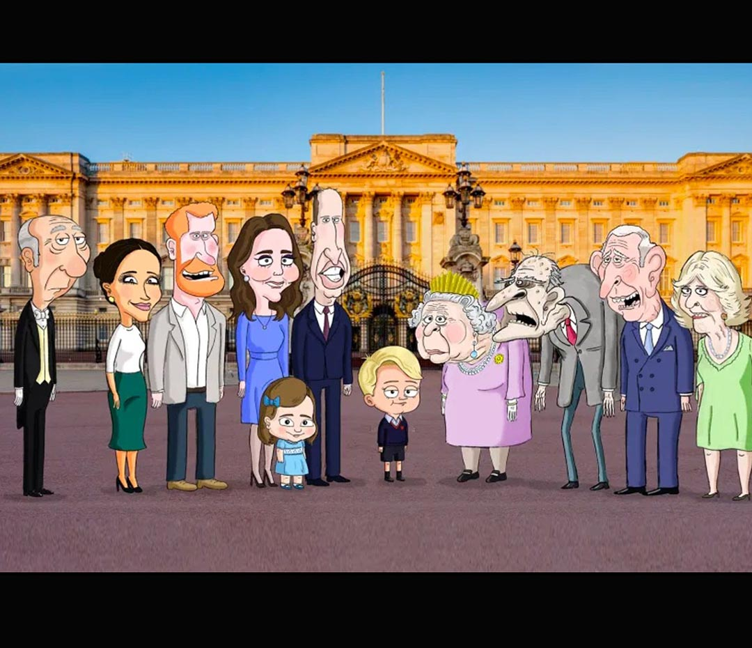 """Se viene la serie The Prince (o """"mi familia real inglesa es un dibujo"""")"""