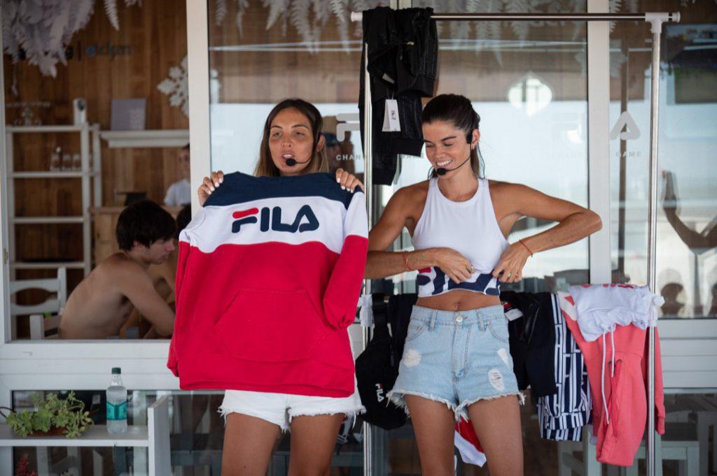 Tricoco se refirió a la logomanía, une tendencia global en la moda.