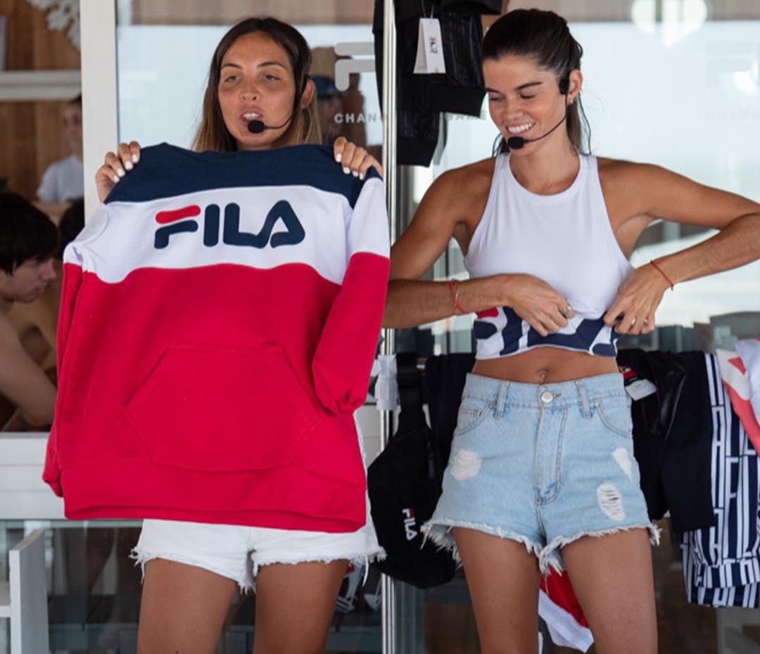 Tendencias de moda en el atardecer de Pinamar