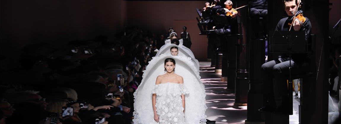 El show de moda de Alta Costura y en 3D de Givenchy