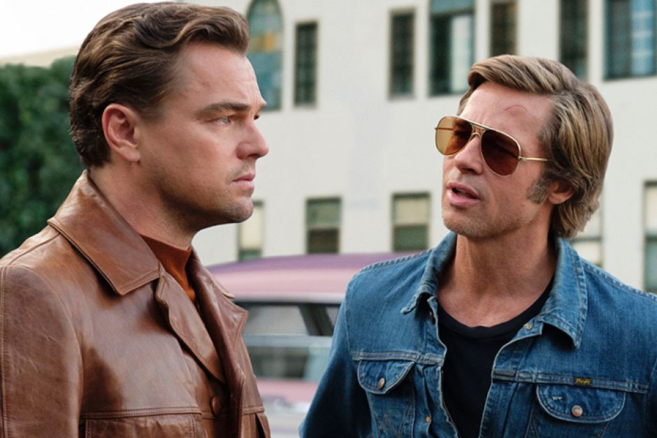BRAD PITT LEO DICAPRIO ONCE UPN A TIME GOLDEN GLOBES