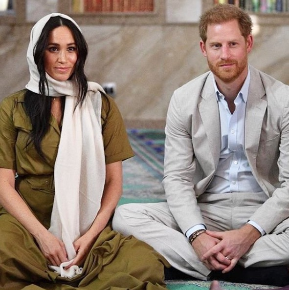 Meghan Markle Harry Windsor Sussex Brexit Releza Británica