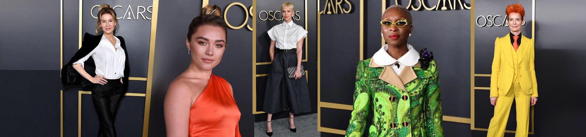 Los looks del tradicional almuerzo de los nominados a los premios Oscar 2020