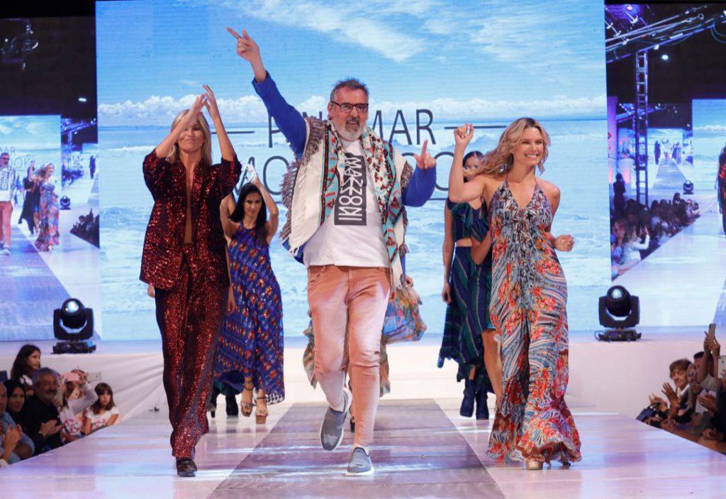 Benito Fernández en Pinamar Moda Show 2020.