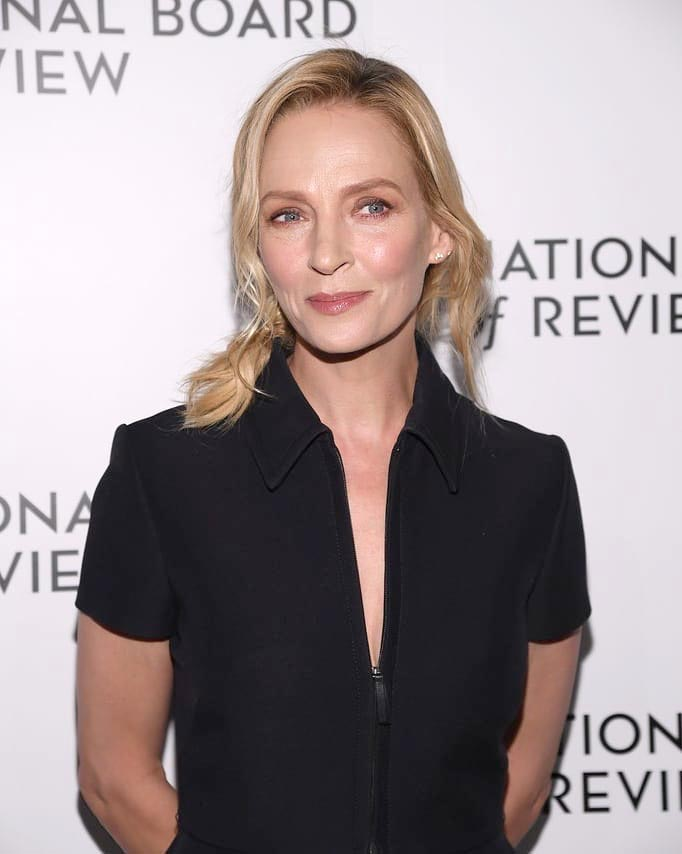 Uma Thurman en los National Board of Review Awards