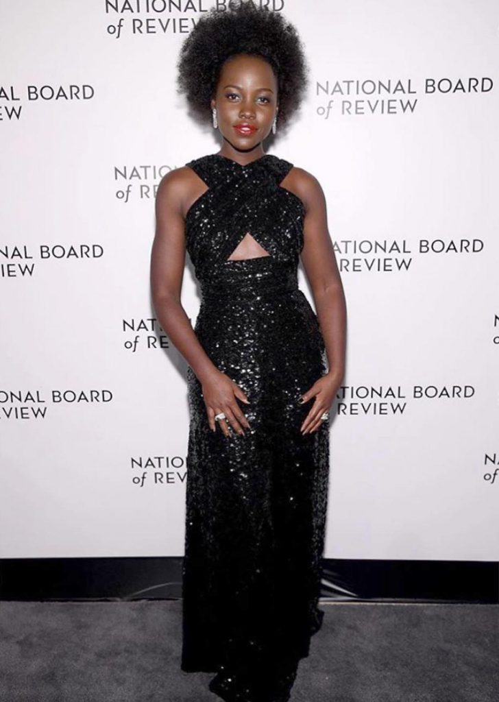 Lupita Nyong'o en los National Board of Review Awards