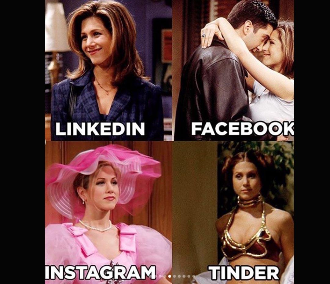 Instagram, Linkedin, Facebook, ¡Tinder! El furor por el Dolly Parton Challenge