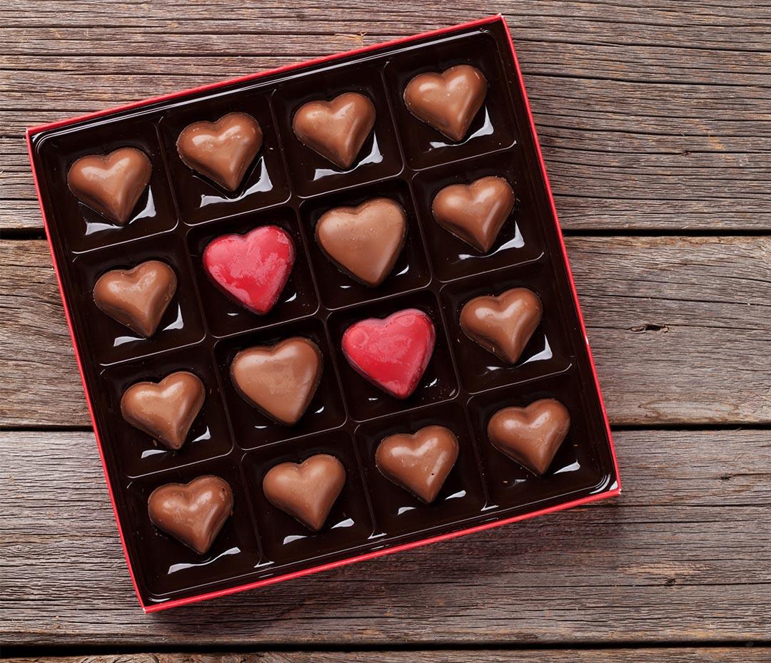 ¿Dónde están mis bombones en el Día de los Enamorados?