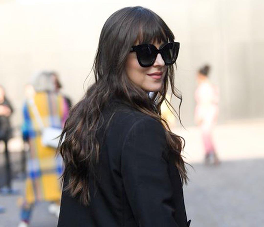Dakota Johnson: la más mirada en el desfile de Gucci en la Semana de la Moda de Milán