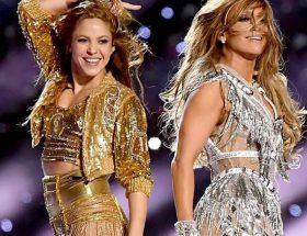 Shakira y Jennifer Lopez juntas en el Super Bowl 2020